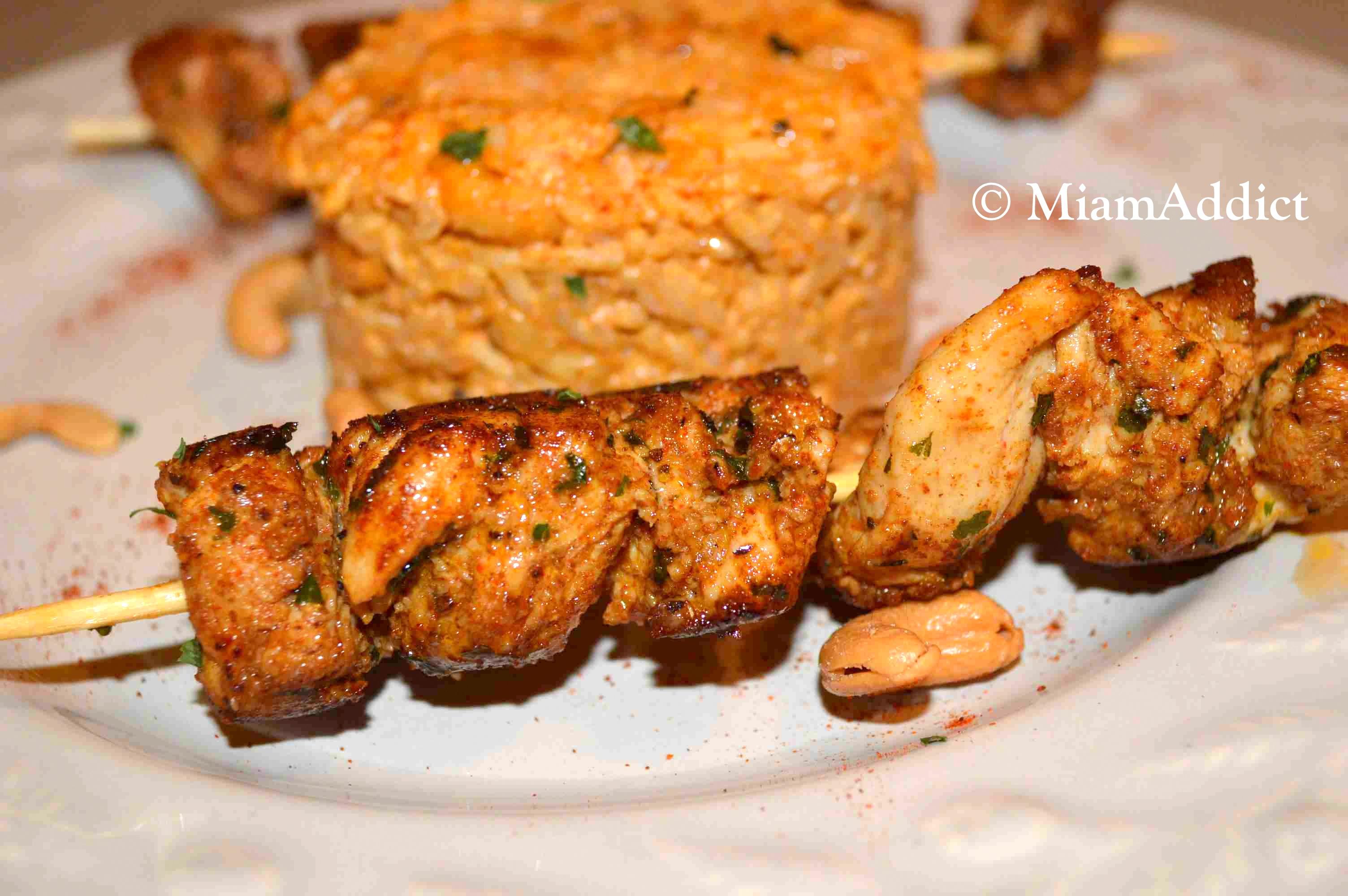 Brochettes de dinde au paprika miamaddict for Marinade au paprika pour barbecue