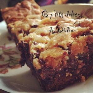 Brookies par O p'tits délices de Didine