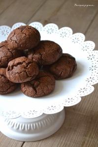 Cookies tout choco à l'huile de coco par Pourquoi je Grossis