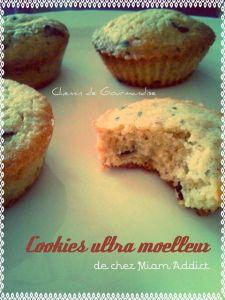 Cookies ultra moelleux par Chemin de Gourmandise