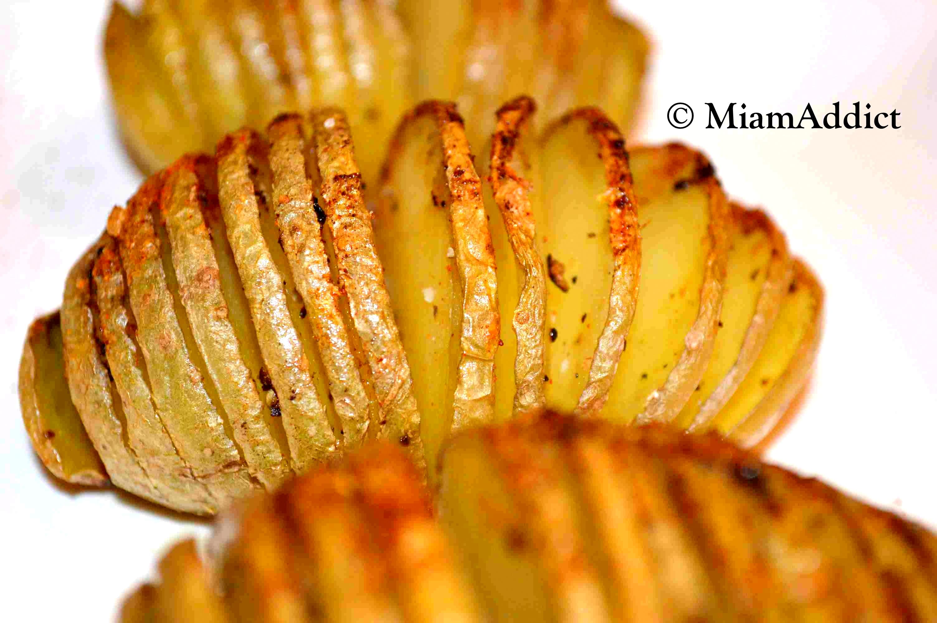 Pommes de terre la su doise miamaddict - Pomme de terre paillasson au four ...