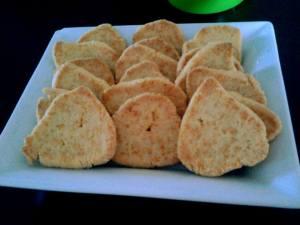 Sablés au fromage par Johanna